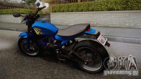 GTA 5 Pegassi Esskey для GTA San Andreas вид слева