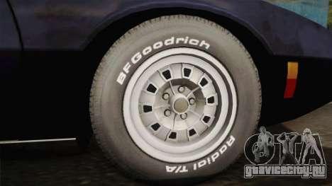 AMC AMX 3 39 1970 для GTA San Andreas вид сзади