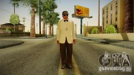 GTA 5 Franklin Tuxedo v3 для GTA San Andreas второй скриншот