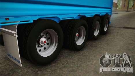 Trailer 4 Axle для GTA San Andreas вид изнутри