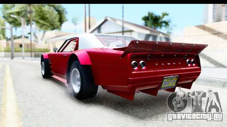 GTA 5 Declasse Tampa Drift IVF для GTA San Andreas вид сзади слева