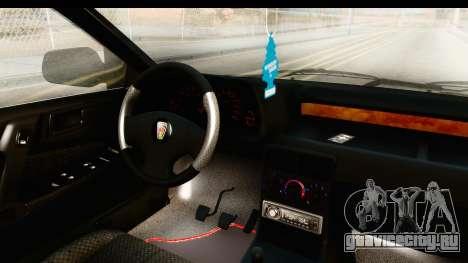 Rover 220 Kent Edition для GTA San Andreas вид изнутри