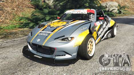 Mazda MX-5 (ND) RADBUL Mango [replace] для GTA 5