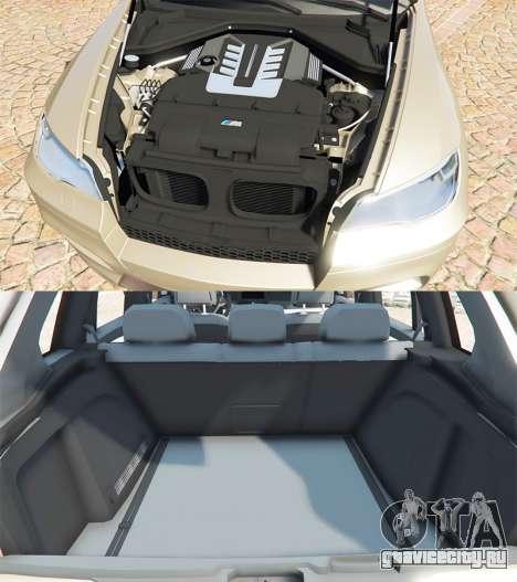 BMW X5 M (E70) 2013 v1.2 [add-on] для GTA 5 вид справа