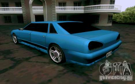 Elegy Sedan для GTA San Andreas вид справа