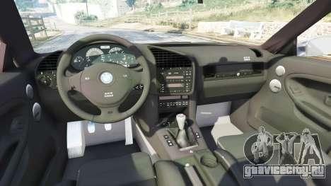 BMW 328i (E36) M-Sport [replace] для GTA 5 вид справа