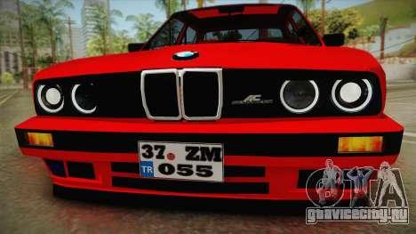 BMW M3 E30 Sedan для GTA San Andreas вид сзади слева