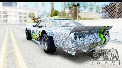 GTA 5 Declasse Tampa Drift IVF для GTA San Andreas колёса
