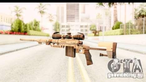 Cheytac M200 Intervention Tan для GTA San Andreas второй скриншот