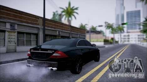Mercedes-Benz Cls 630 для GTA San Andreas вид сзади