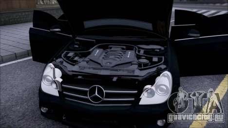 Mercedes-Benz Cls 630 для GTA San Andreas вид справа