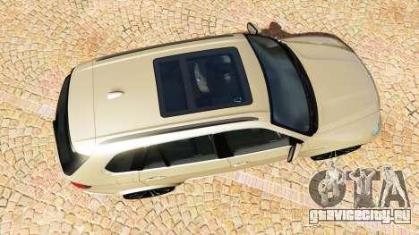 BMW X5 M (E70) 2013 v1.2 [add-on] для GTA 5 вид сзади