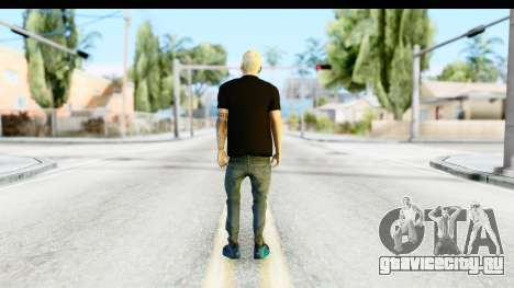 Blonde Messi для GTA San Andreas третий скриншот