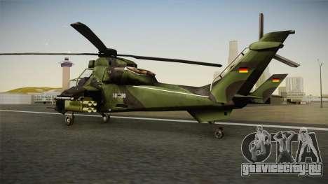 Eurocopter Tiger Extra Skin для GTA San Andreas вид слева