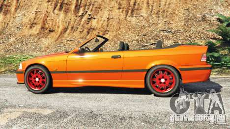 BMW 328i (E36) M-Sport v1.1 [replace] для GTA 5 вид слева