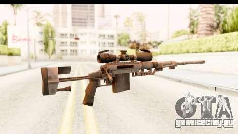 Cheytac M200 Intervention Black для GTA San Andreas второй скриншот