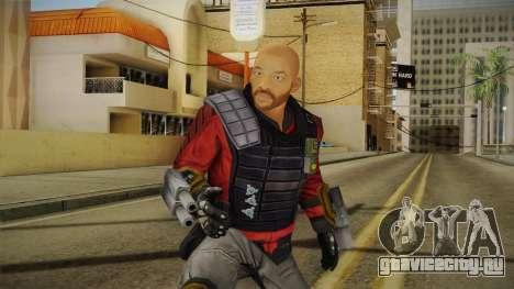 Will Smith - Deadshot v2 для GTA San Andreas