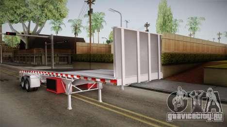 Trailer Americanos v1 для GTA San Andreas вид сзади слева