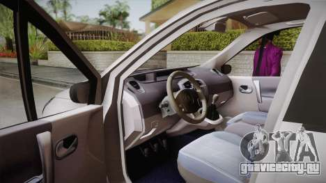 Renault Scenic II для GTA San Andreas вид справа