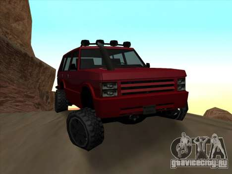 Huntley Offroad для GTA San Andreas
