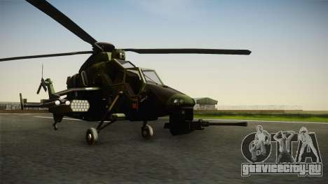 Eurocopter Tiger Extra Skin для GTA San Andreas вид справа
