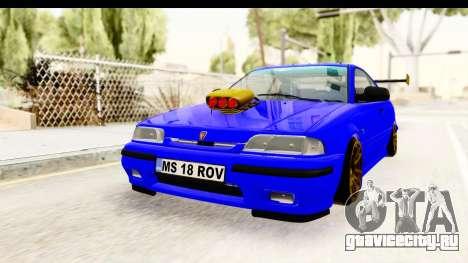 Rover 220 Kent Edition de Haur для GTA San Andreas вид сзади слева