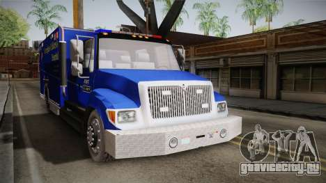 International Terrastar Ambulance 2014 для GTA San Andreas вид справа