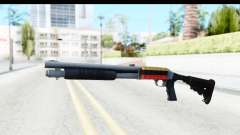 Tactical Mossberg 590A1 Chrome v2 для GTA San Andreas