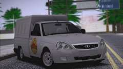 Lada Priora Budka для GTA San Andreas