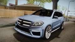 Mercedes-Benz GL63 Brabus для GTA San Andreas