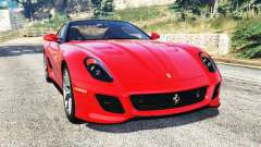 Ferrari 599 GTO [replace] для GTA 5