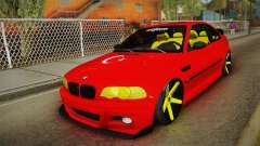BMW M3 E46 Turkish Stance для GTA San Andreas