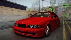 BMW 530d E39 Red Black для GTA San Andreas