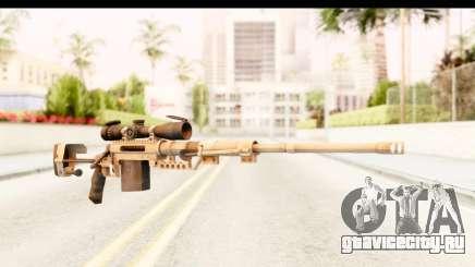 Cheytac M200 Intervention Tan для GTA San Andreas