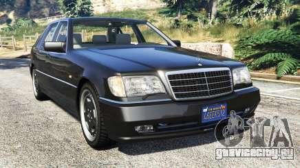 Mercedes-Benz W140 AMG [replace] для GTA 5