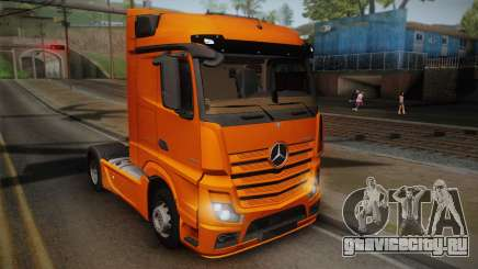 Mercedes-Benz Actros Mp4 4x2 v2.0 Steamspace для GTA San Andreas