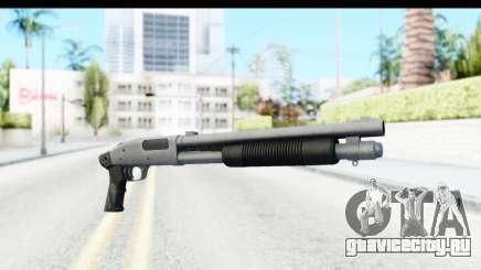 Tactical Mossberg 590A1 Chrome v1 для GTA San Andreas