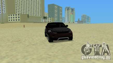 Range Rover Evoque для GTA Vice City