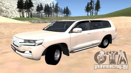 Toyota Land Cruiser 200 2016 для GTA San Andreas