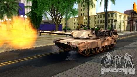 M1A1 Abrams COD4MW Remastered для GTA San Andreas