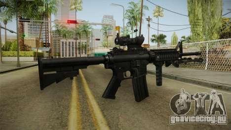 M4A1 ACOG для GTA San Andreas третий скриншот