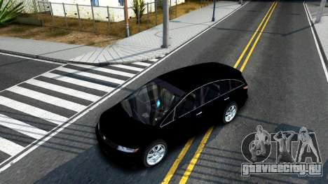 2010 Dinka Perennial Unmarked для GTA San Andreas вид изнутри