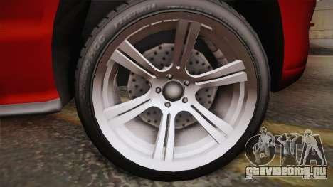 Ford Mustang 2005 для GTA San Andreas вид сзади слева