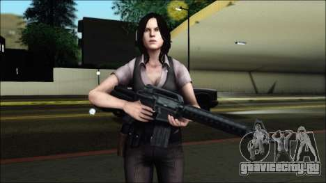 Resident Evil 6 - Helena Usa Outfit для GTA San Andreas