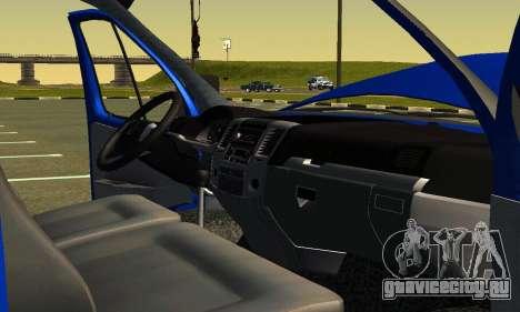 Газель 3302 Бизнес для GTA San Andreas вид сверху