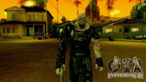 Resident Evil ORC - Nemesis для GTA San Andreas третий скриншот