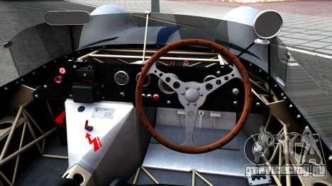 Maserati Tipo 61 для GTA San Andreas вид изнутри