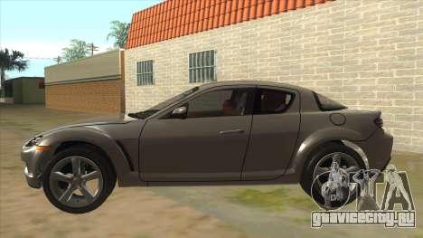 NFS PRO STREET: Mazda RX-8 Tunable для GTA San Andreas вид слева