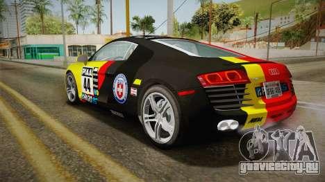 Audi R8 Coupe 4.2 FSI quattro US-Spec v1.0.0 v2 для GTA San Andreas салон