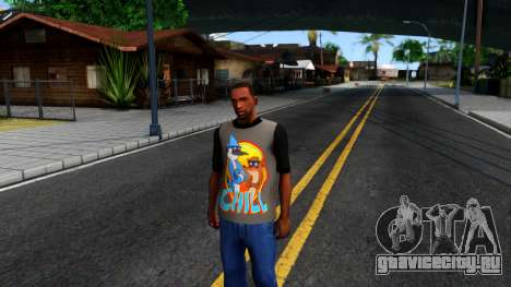 Regular Show T-shirt для GTA San Andreas